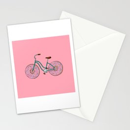 Donut Bicycle Stationery Cards