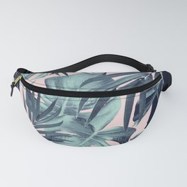 Tropical Jungle Leaves Pattern #8 #tropical #decor #art #society6 Fanny Pack