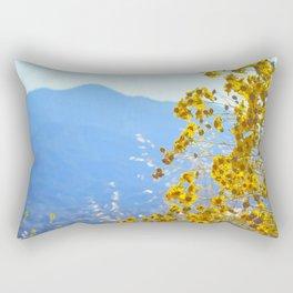 Mountain Blossoms Rectangular Pillow