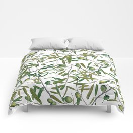 olive pattern Comforters