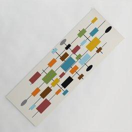Mid-Century Modern Art 1.3 Yoga Mat