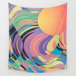 Magnetic Storm Wall Tapestry