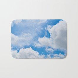 Partly Cloudy Bath Mat