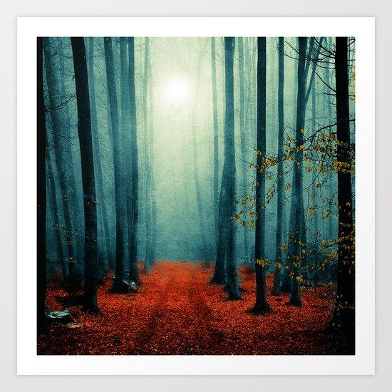 Landscape (colour option) Art Print