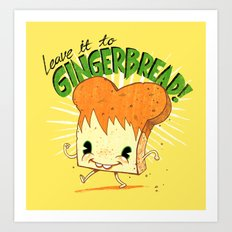 GingerBread Art Print