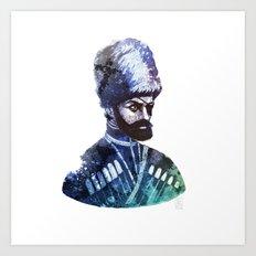 Cossack Art Print