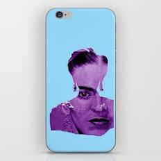 FRIDA - shirt version - blue/purple iPhone & iPod Skin