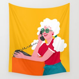 Calling the 80s Wall Tapestry