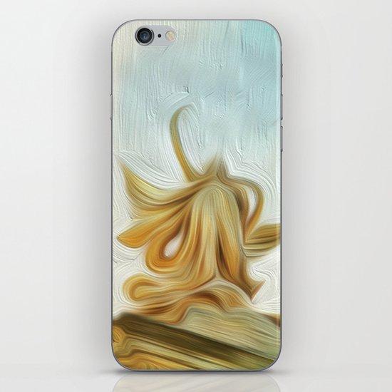 golden hair iPhone & iPod Skin