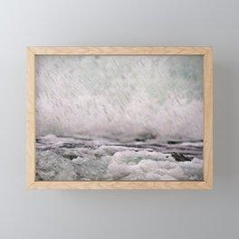 Under the Crashing Wave Framed Mini Art Print