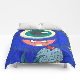 Monster and his cupcake Comforters