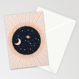 Love in Space Stationery Cards