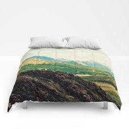 Denali Mountains Comforters