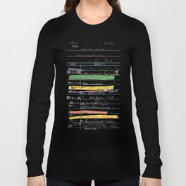 Library Card 3503 Exploring the Moon Long Sleeve T-shirt