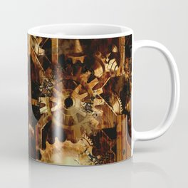 Steampunk Watch Gears and Cogs Coffee Mug