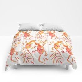 Geckos – Fire Palette Comforters