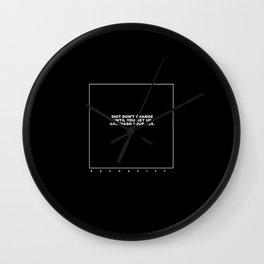 kenny (black) Wall Clock
