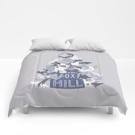 Foxhill Hill of Foxes Comforters