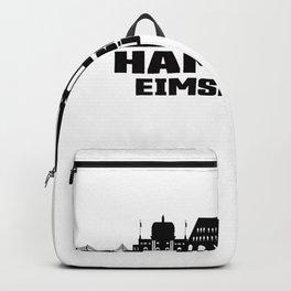 Hamburg Eimsbüttel Germany Skyline Backpack