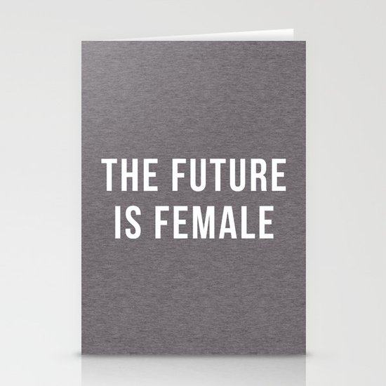 Future Is Female Quote by envyart