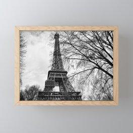 Eiffel tower Paris Framed Mini Art Print