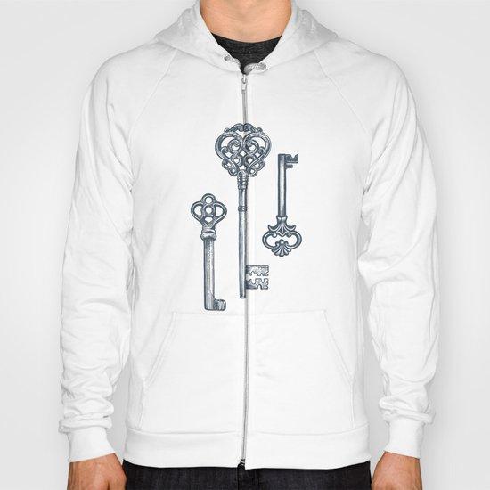 Three Skeleton Keys Hoody