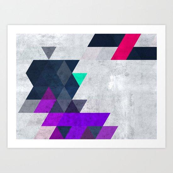 cyncryyt hylyyts Art Print