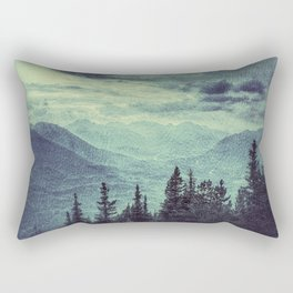 Mountain Highs and Valley Lows Rectangular Pillow