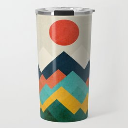 The hills are alive Travel Mug