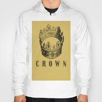 crown Hoodies featuring Crown by NYLONPISTOL