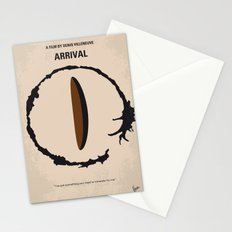 No735 My Arrival minimal movie poster Stationery Cards