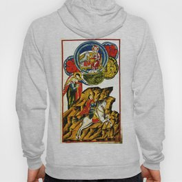Lifting the First Seal of Apocalypse and the White Rider of War Hoody