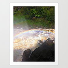 Rainbows In The Mist Art Print