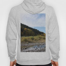 Bow River on a fall afternoon Hoody