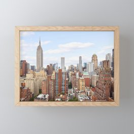 New York Color Vibes Framed Mini Art Print