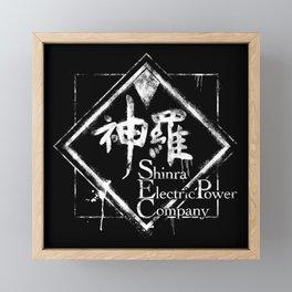 Shinra Inc - Final Fantasy 7 Framed Mini Art Print