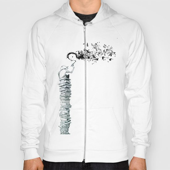 "Glue Network Print Series ""Education & Arts"" Hoody"