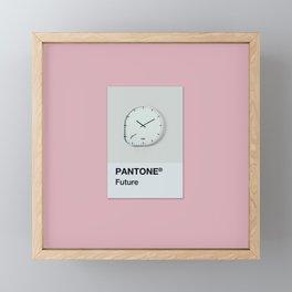 Pantone ® Future Framed Mini Art Print