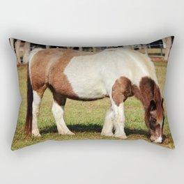 American Paint Horse Rectangular Pillow