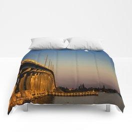 Bridge To The Moon Comforters
