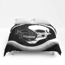 Eclipsed Skull Comforters