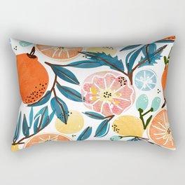 Fruit Shower Rectangular Pillow