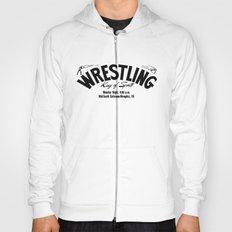 Wrestling Logo From Decades Ago Hoody
