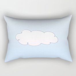 clouds 3-cloud,sky,skies,vapor,fog,mist,cloudscape,nube,atmosfera,atmosphere,cielo,air Rectangular Pillow