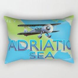 Adriatic Sea Rectangular Pillow