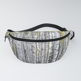 Aspen Forest Through the Trees Fanny Pack