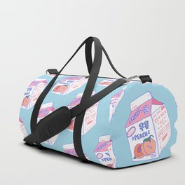 Peach Milk Duffle Bag