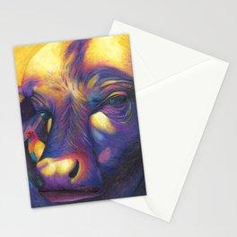 Wild Water buffalo Stationery Cards