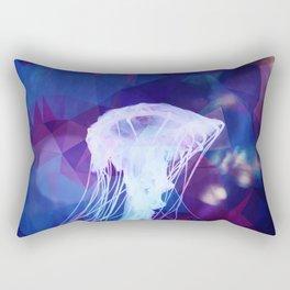 Polygonal jellyfish Rectangular Pillow