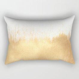 Brushed Gold Rectangular Pillow